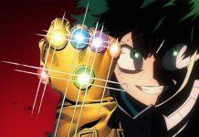 deku boku no hero academia vingadores