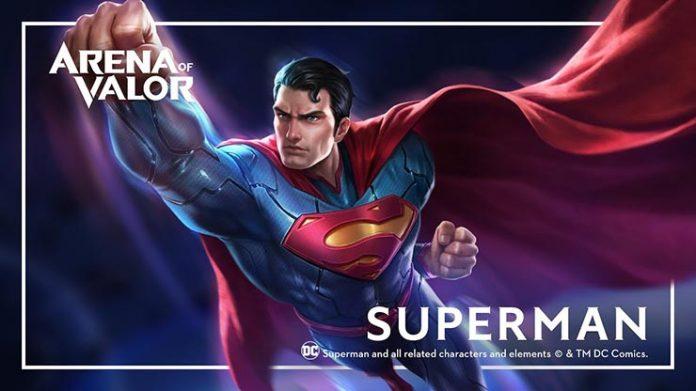 superman arena of valor