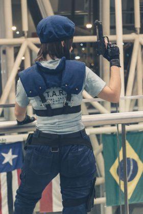 Cosplayers de Resident Evil 2 na Brasil Game Show 2018