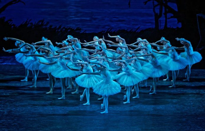 Balé Nacional da China lago dos cisnes