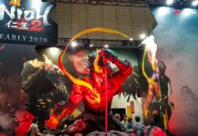 nioh 2 tokyo game show 2019