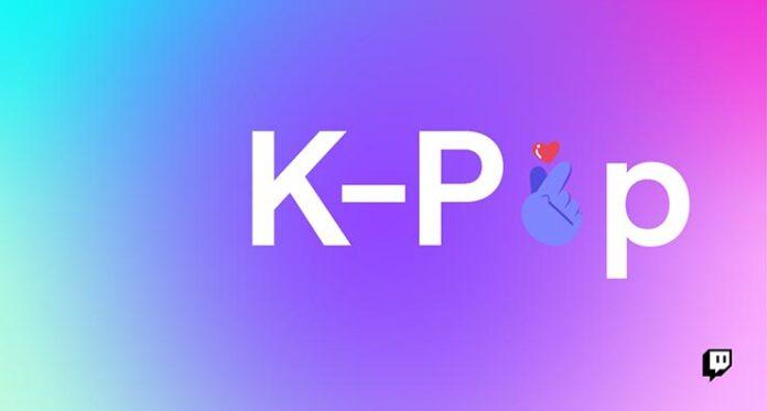 twitch k-pop