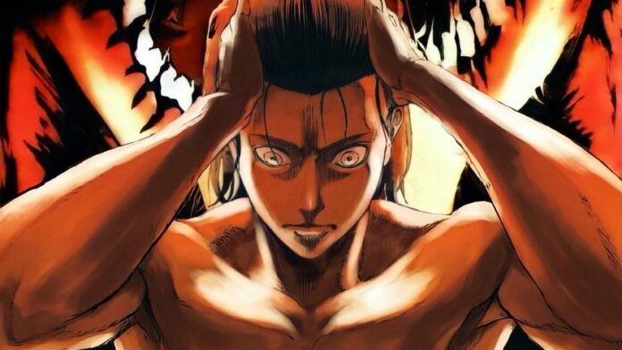 Attack on Titan Manga Cover Eren