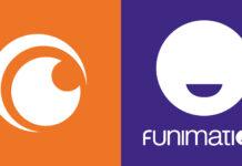 Crunchyroll Funimation logos
