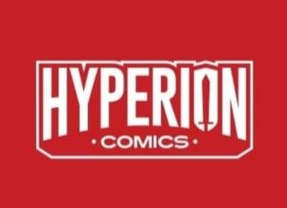 Hyperion comics logo