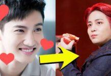 Jongho do grupo Ateez e Changmin do TVXQ