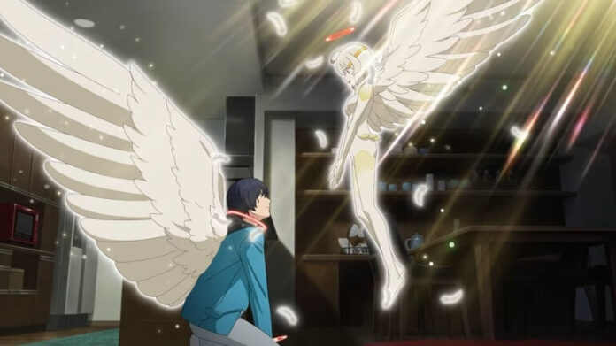 Platinum End anime capa