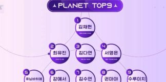 top9 girls planet 999